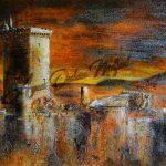 Flamboyante forteresse de Polignac