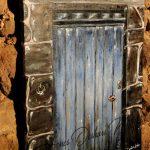 Derriére la porte - Acrylique