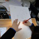 Report des dessins grâce aux tables lumineuses